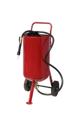 Large Portable Sand Blast Pot SB26 With Easy Fill Top.